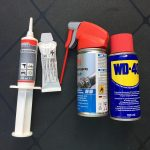 Universeelvet, kogellagervet, siliconenspray, WD-40