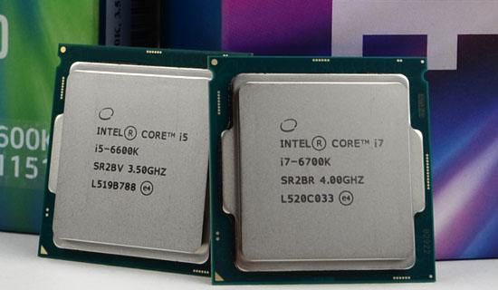 Intel Core i7-6700K and Core i5-6600K
