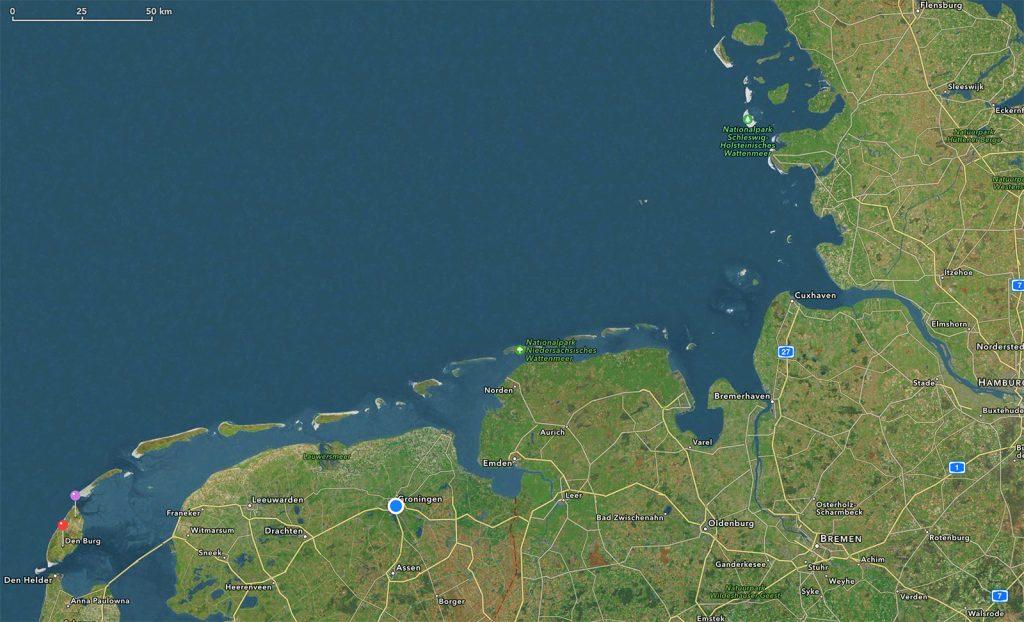 Noorzee- en waddeneilanden